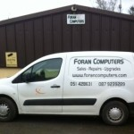 Foran Computes workshop and van